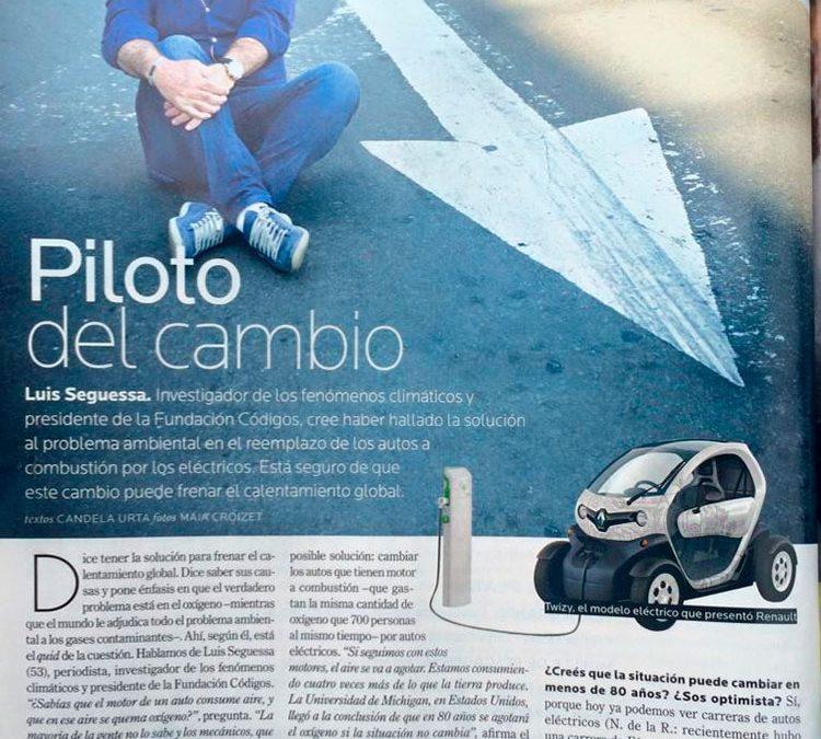 El investigador Luis Seguessa en la Formula E de Punta del Este y Buenos Aires