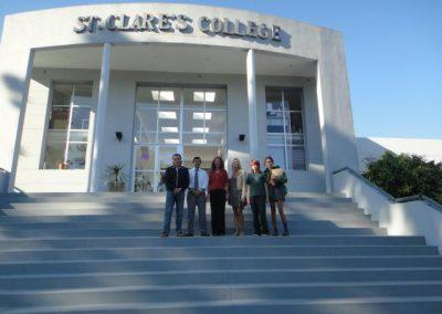 Conferencia en el Colegio St Claire's