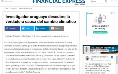 Uruguayan researcher discovers the true cause of the climate change