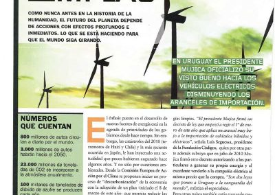 Energías limpias. Entrevista a Luis Seguessa sobre Cambio Climático