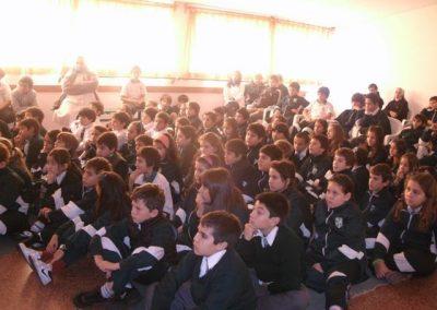 Día del medio ambiente en escuelas y liceos
