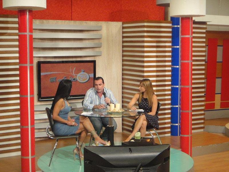 Luis Seguessa en TVCUN, Mexico