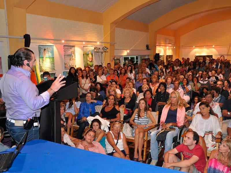 Conferencia Alerta Global en la liga de Punta del Este