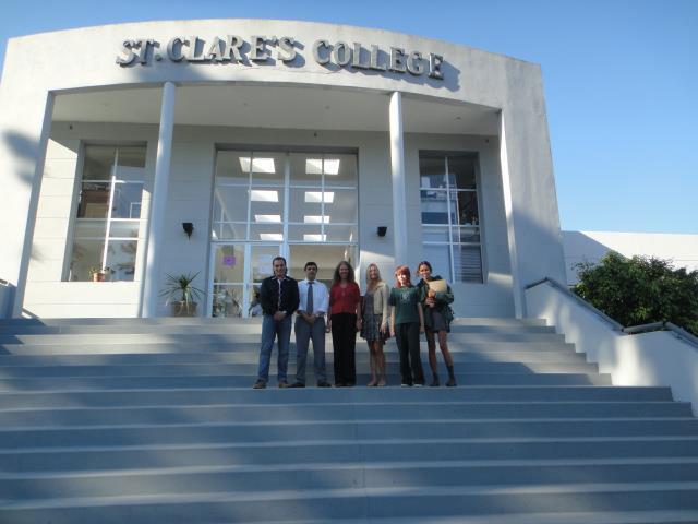 Conferencia Alerta Global con Luis Seguessa en St Claires College de Punta del Este