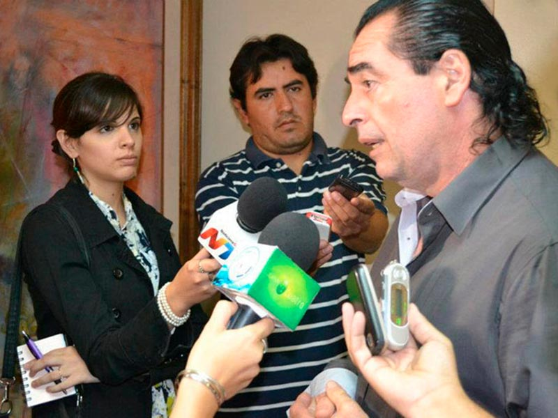 Conferencia de Prensa en Argentina 2012