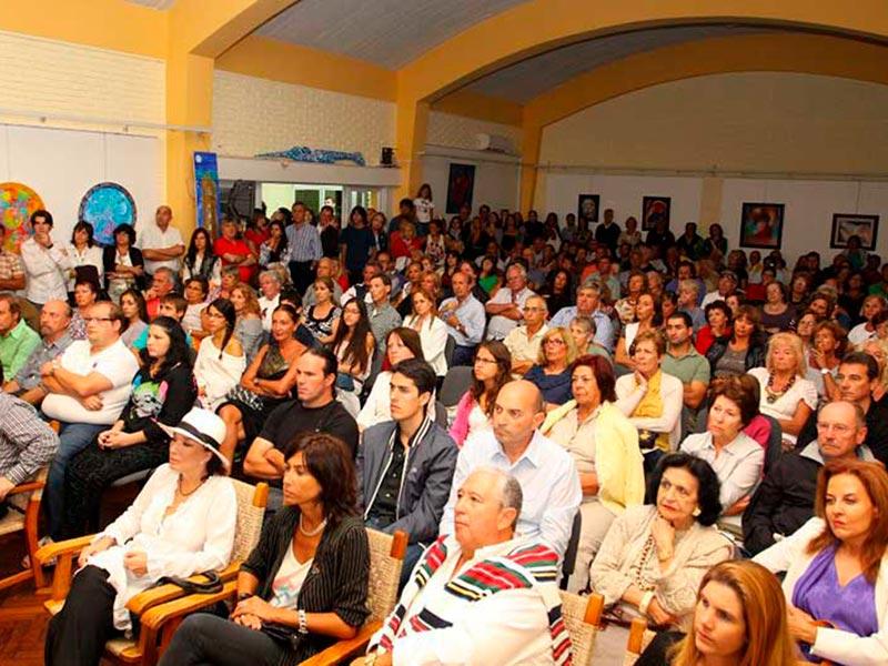 Conferencia en Liga de Punta del Este 2012