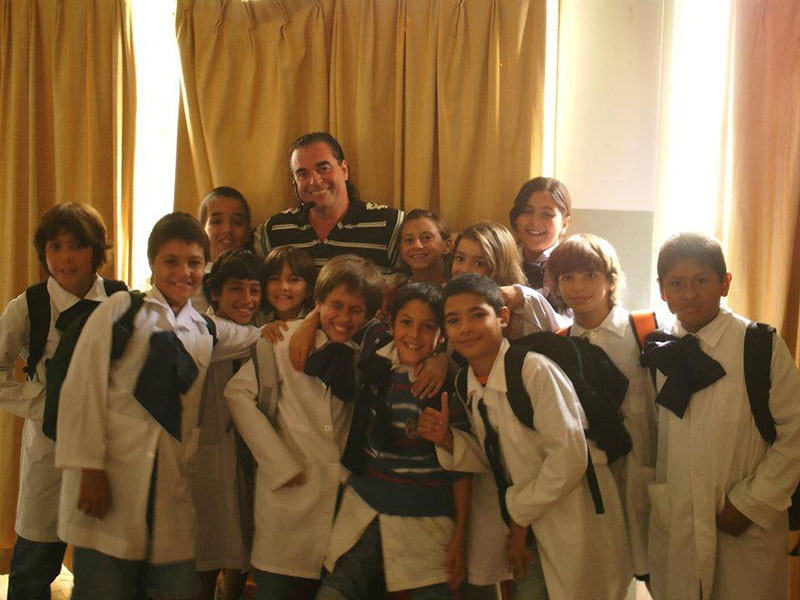 En Escuela N 5 de Punta del Este 2012