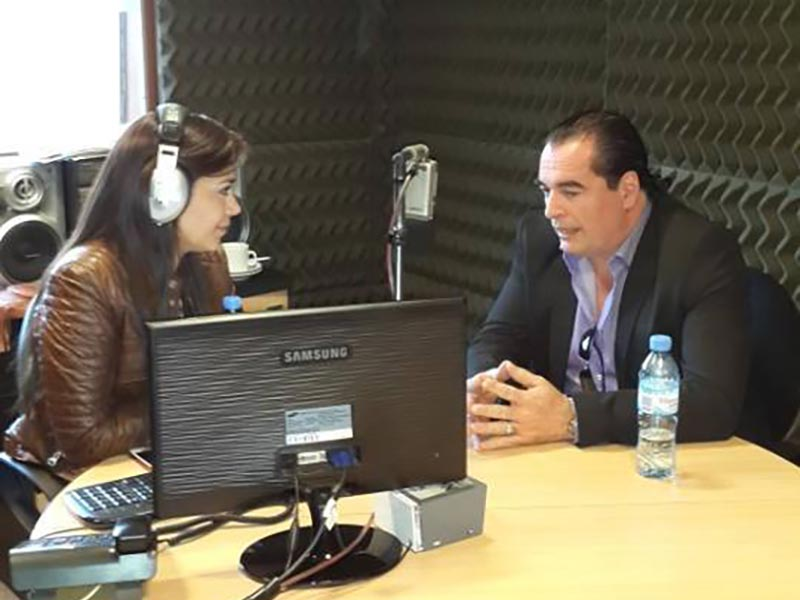 Entrevista radial a Luis Seguessa en Mendoza