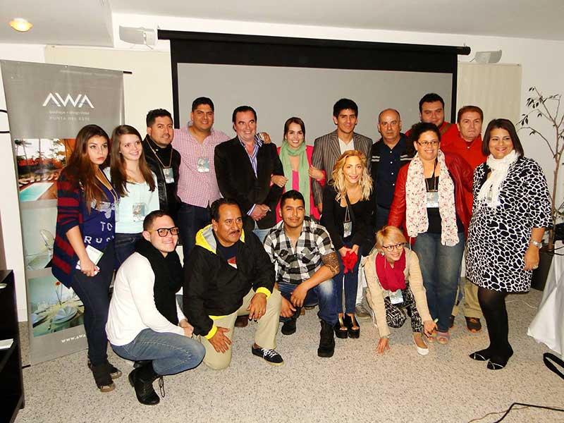 Festival de la Cancion en la conferencia Alerta Global en el Hotel Awa de Punta del Este