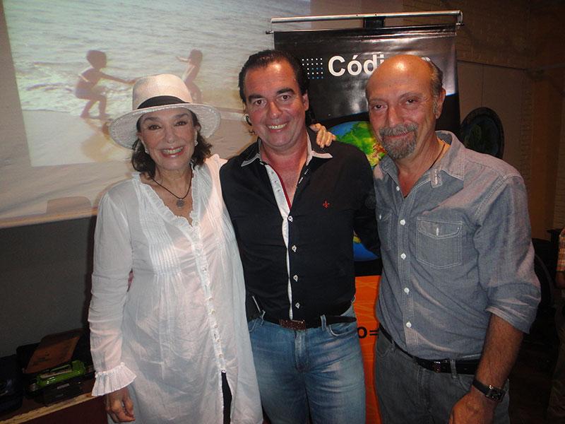 Graciela Borges, Luis Seguessa y Eduardo Pla