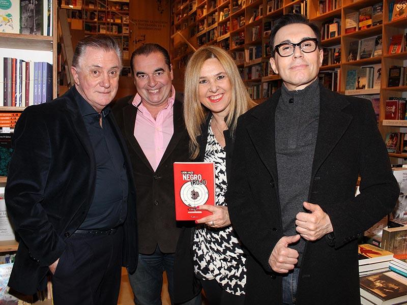 Lucho Aviles, Luis Seguessa, Silvina Luna y Marcelo Polino