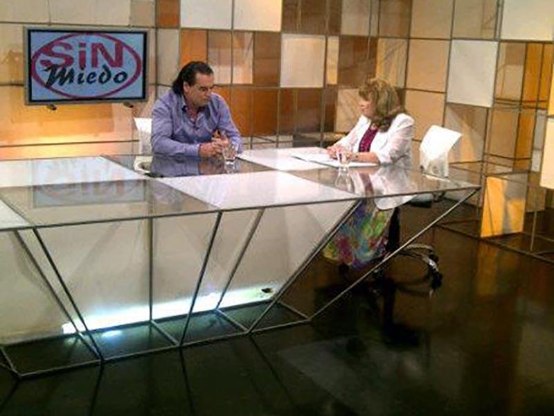 Luis Seguessa con Fanny Mandelbaum