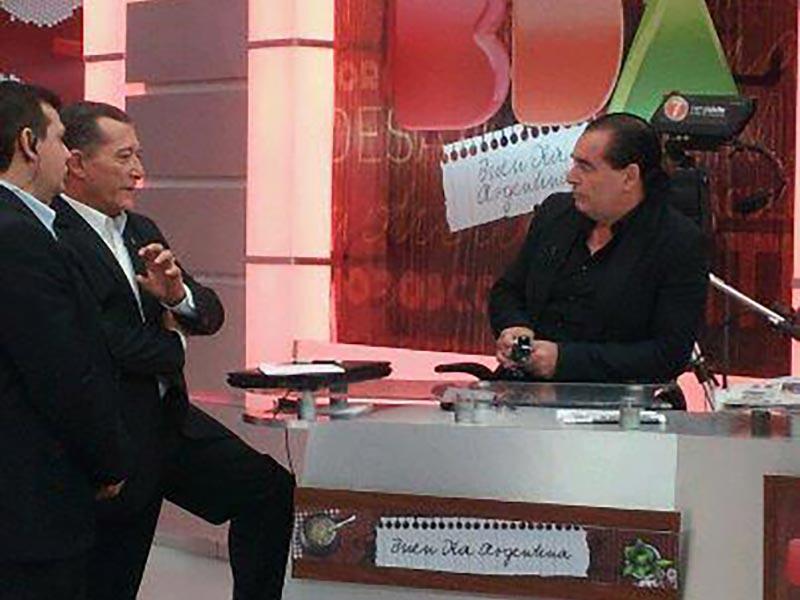 Luis Seguessa en el programa BDA en canal 7 de Mendoza