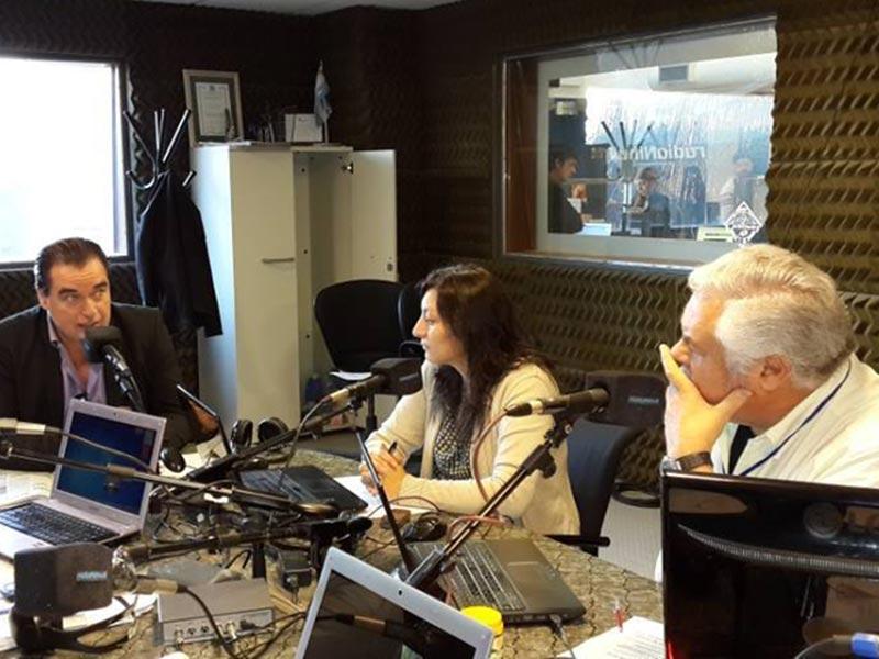Luis Seguessa en entrevista de radio