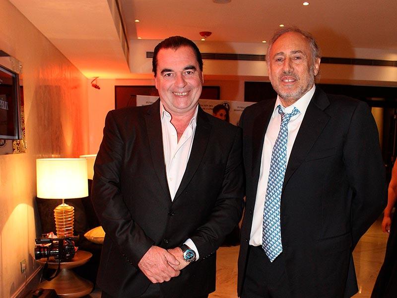 Luis Seguessa y Gustavo Yankelevich