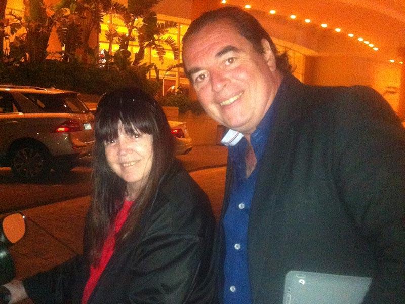 Marilina Ross con Luis Seguessa