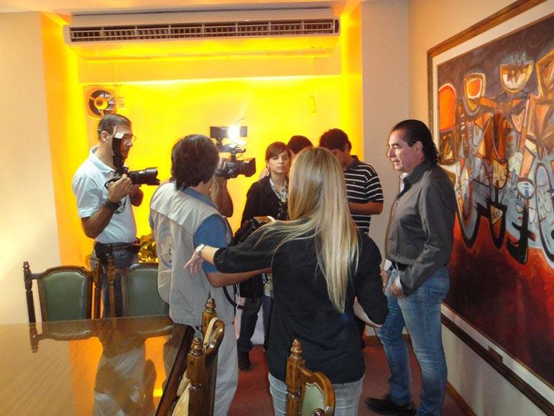 Prensa en Santiago del Estero, Argentina 2012