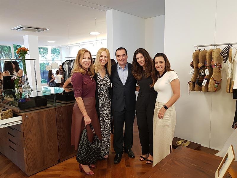 Rosy Verdi, Silvina Luna, Luis Seguessa, Duda Ferreira e Marcia Braga