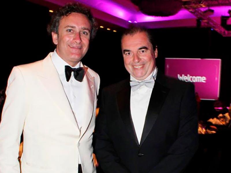 gala de la formula E, Alejandro Agag y Luis Seguessa
